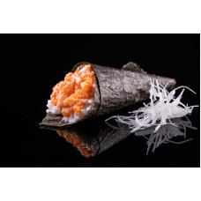 Хенд-рол з спайсі лососем