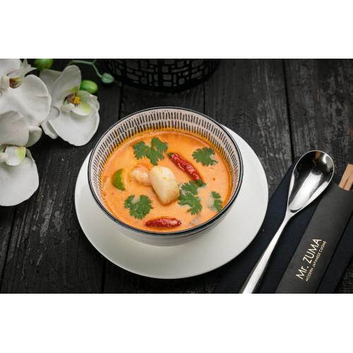 Кокосовий суп з морепродуктами