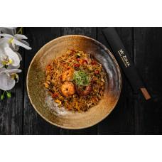 Рис смажений з морепродуктами