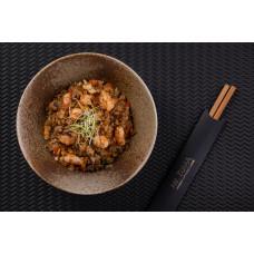 Рис смажений з креветкою